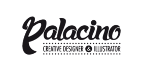 logotipo palacino designer