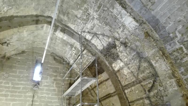 Rehabilitación ermita alazets huesca arquitectura